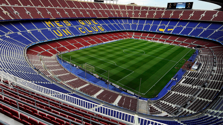 FcBarcelona Official Camp Nou Grass