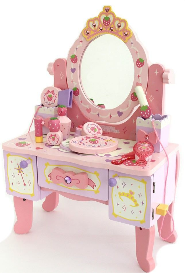 Strawberry Mother Garden Classic Simulation Dressing Table Girls
