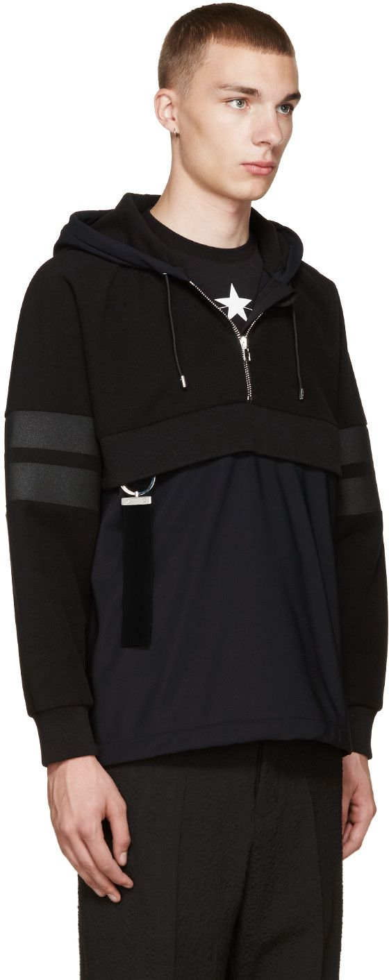 Givenchy - Black Technical Hoodie