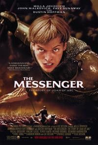 1999 original 27x40 movie poster MESSENGER: JOAN OF ARC MILLA JOVOVICH
