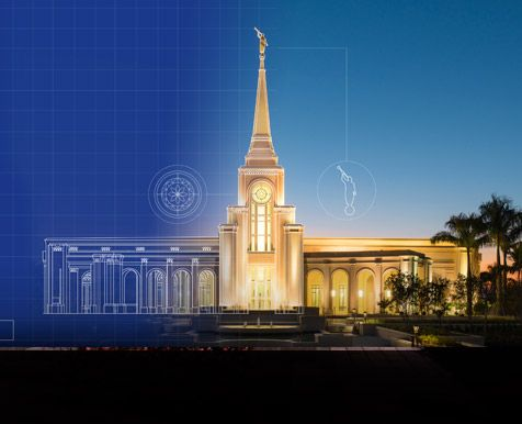 Temple building-a holiness to the Lord.