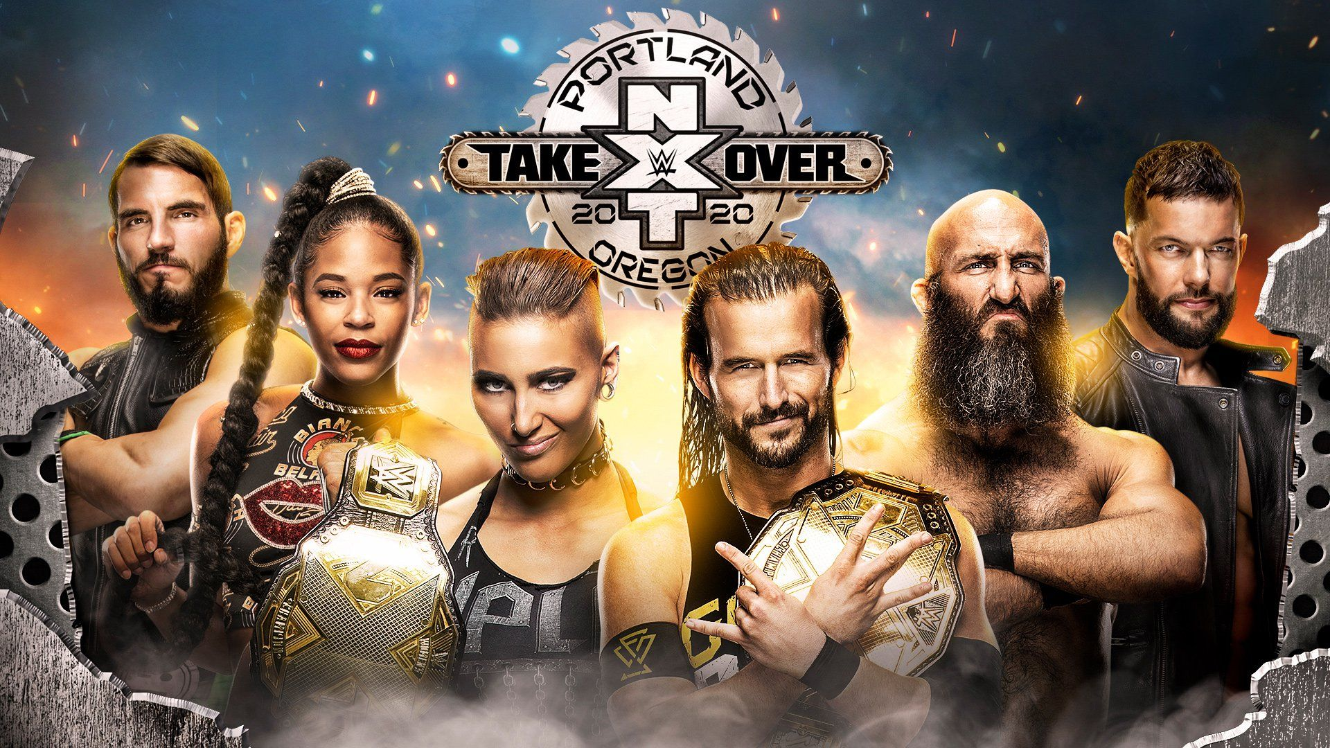 Nxt Takeover Portland Match Card Previews Start Time And More
