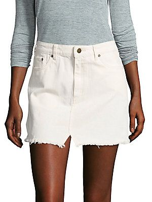 0d91fb6e29209 FREE PEOPLE STEP DENIM MINI SKIRT.  freepeople  cloth