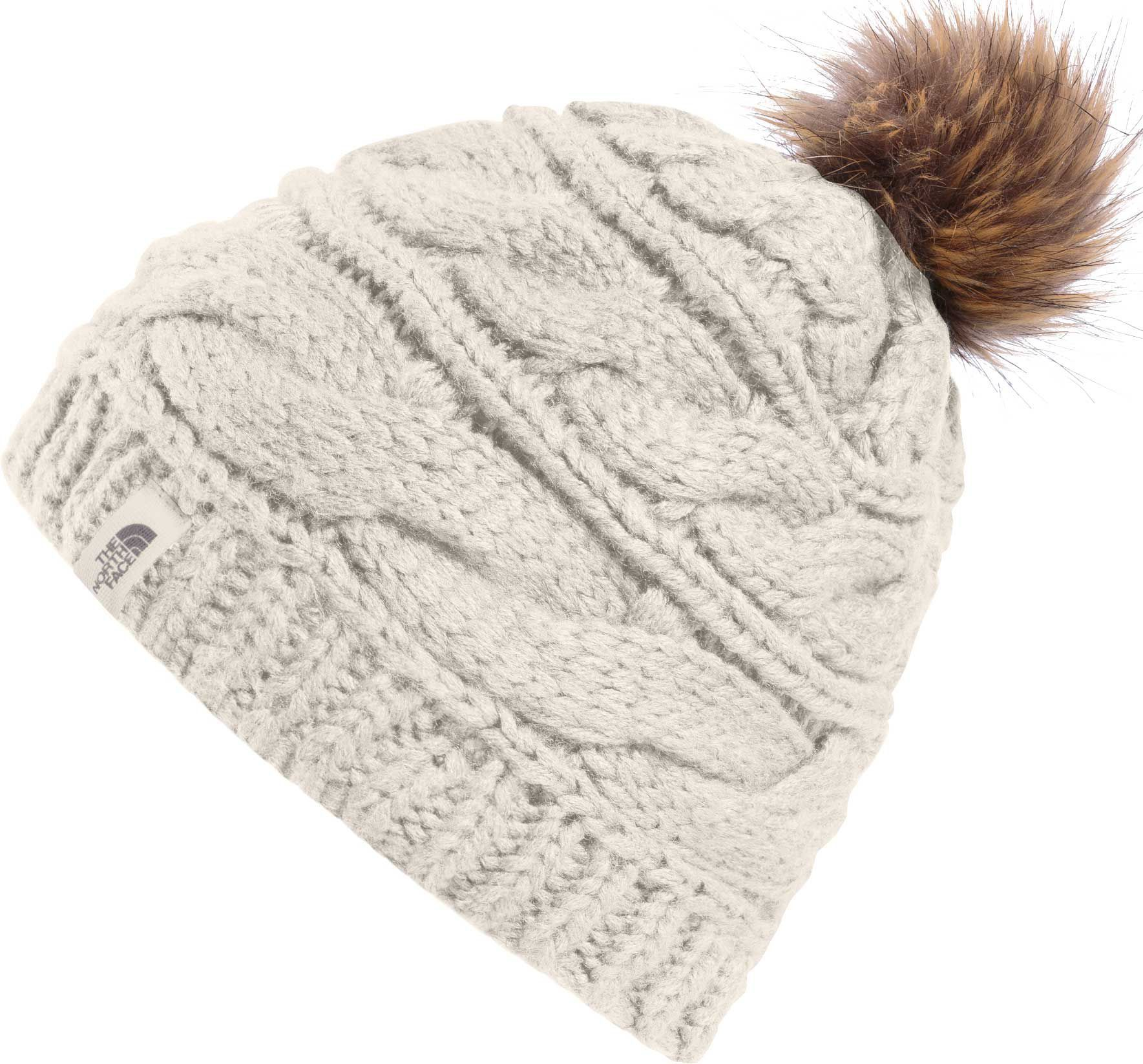 d6dad6bfd The North Face Women's Triple Cable Fur Pom Beanie in 2019 ...