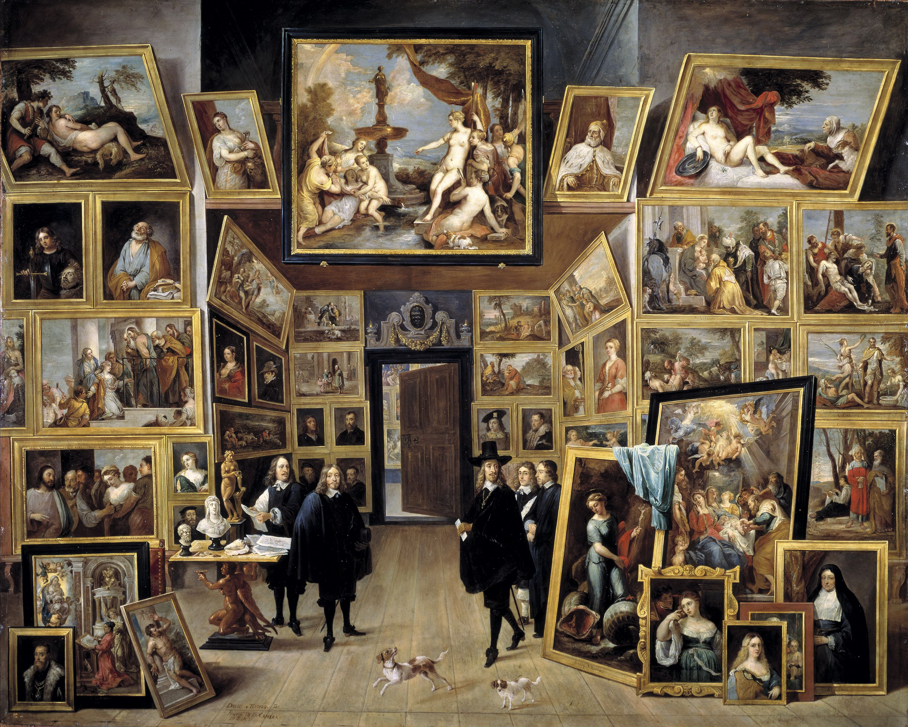 David Teniers the Younger, The archduke Leopold Wilhelm in