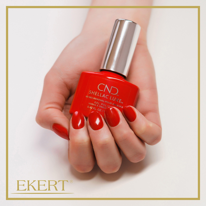Ta Gleboka Czerwien To Wyjatkowy Kolor Shellac Luxe Liberte