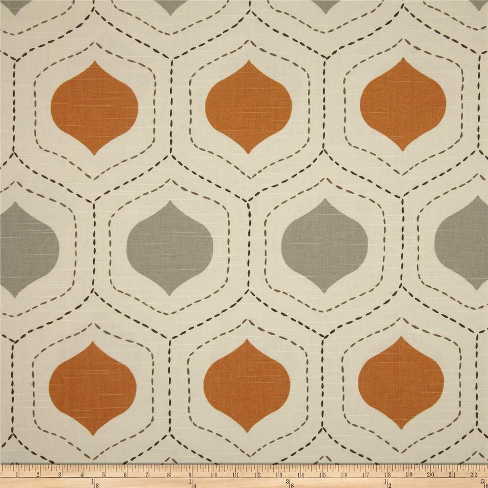 Richloom Manna Slub Tangerine   quilts   Pinterest   Apartment ...