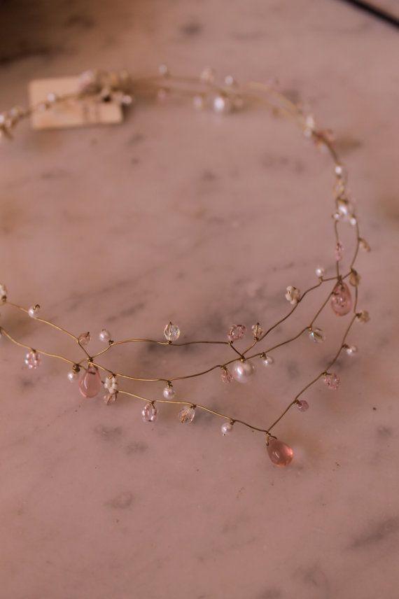 rose gold delicate necklace Dusk Rose Pinterest Dusty pink