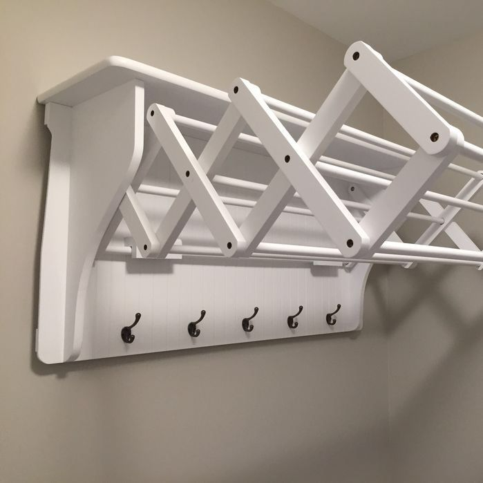 Remove Current Open Shelves And Install These As Drying