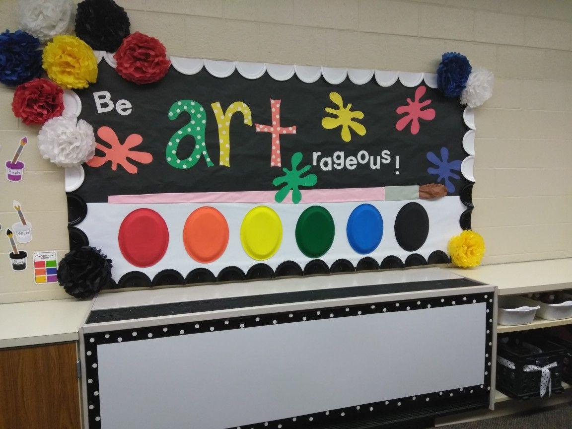 Art bulletin board art bulletin boards preschool