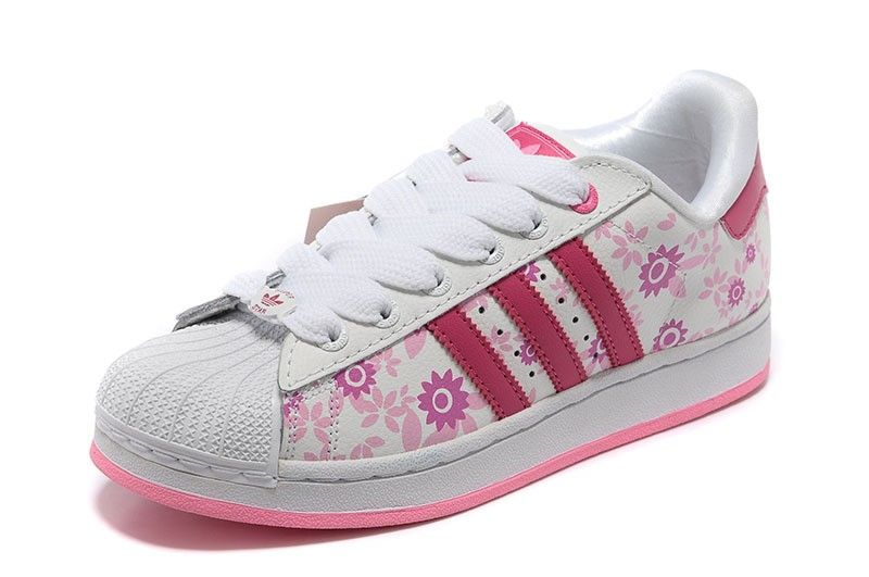 2f718ea26 Adidas Originals Superstar Casual Trainers 019784 Classic Shoes Pink White