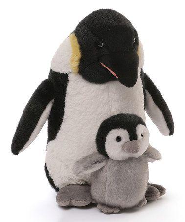 Loving this GUND Penguin & Baby Plush on #zulily! #zulilyfinds ...