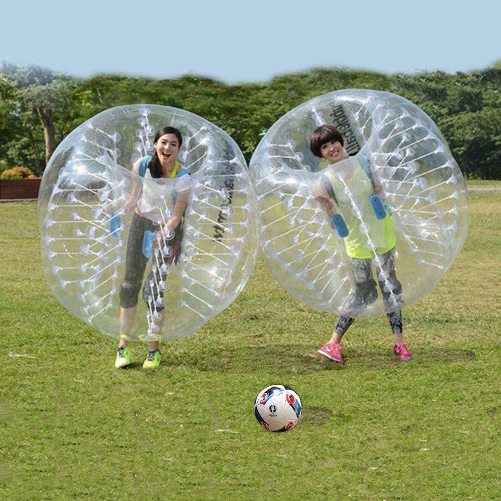 New Inflatable Bumper Bubble Balls Body Zorb Ball Soccer Bumper Football 1.5m