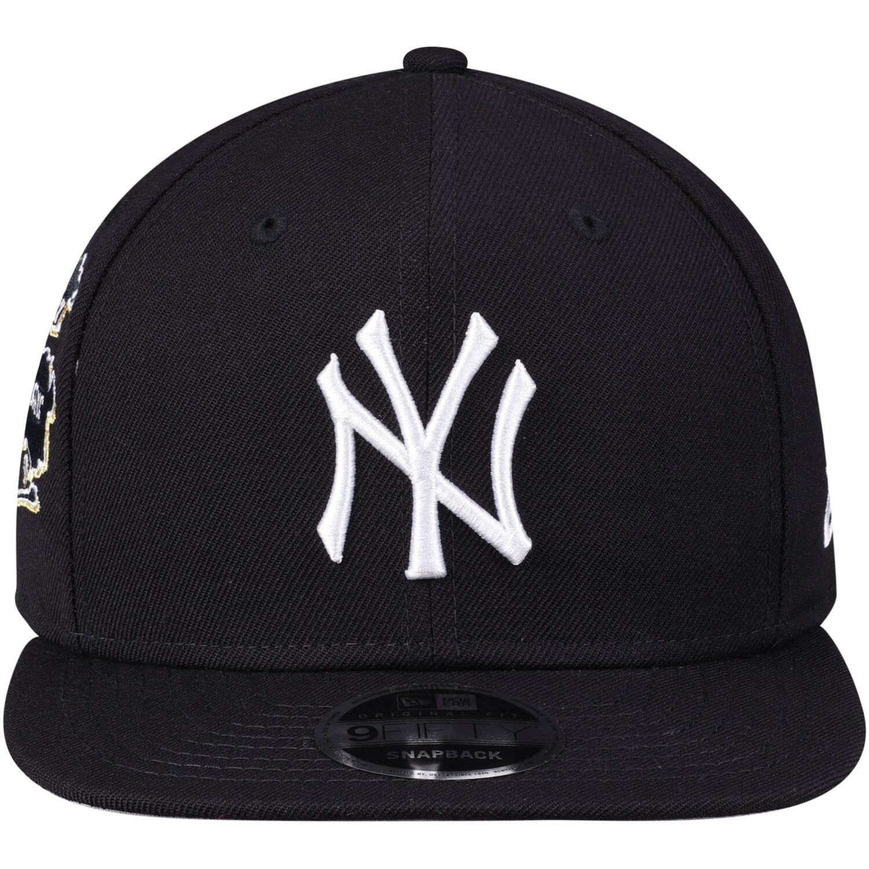 Men S New Era Navy New York Yankees Nyc 9fifty Adjustable Snapback Hat Affiliate York Sponsored Yankees Vintage Style Decorating Snapback Hats Snapback