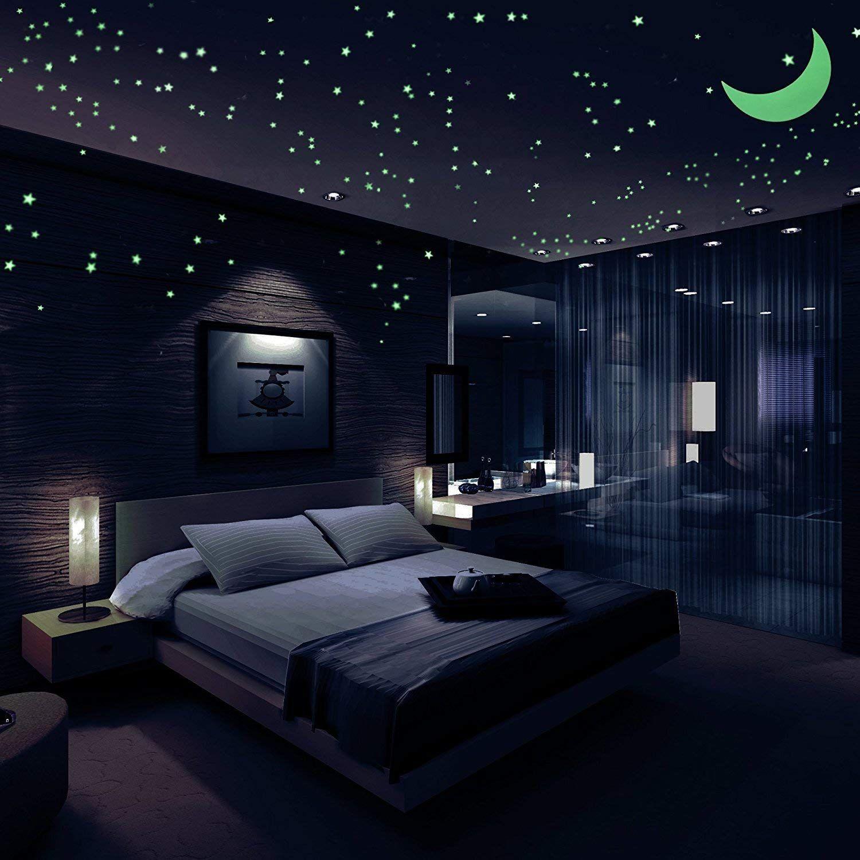 Rezensionen Sternenhimmel Aufkleber Gluhen Sternen 446 Im Dunkeln Leuchten Leuchtende Sterne Luxurioses Wohnen Schlafzimmer Deko Schlafzimmer Inspirationen