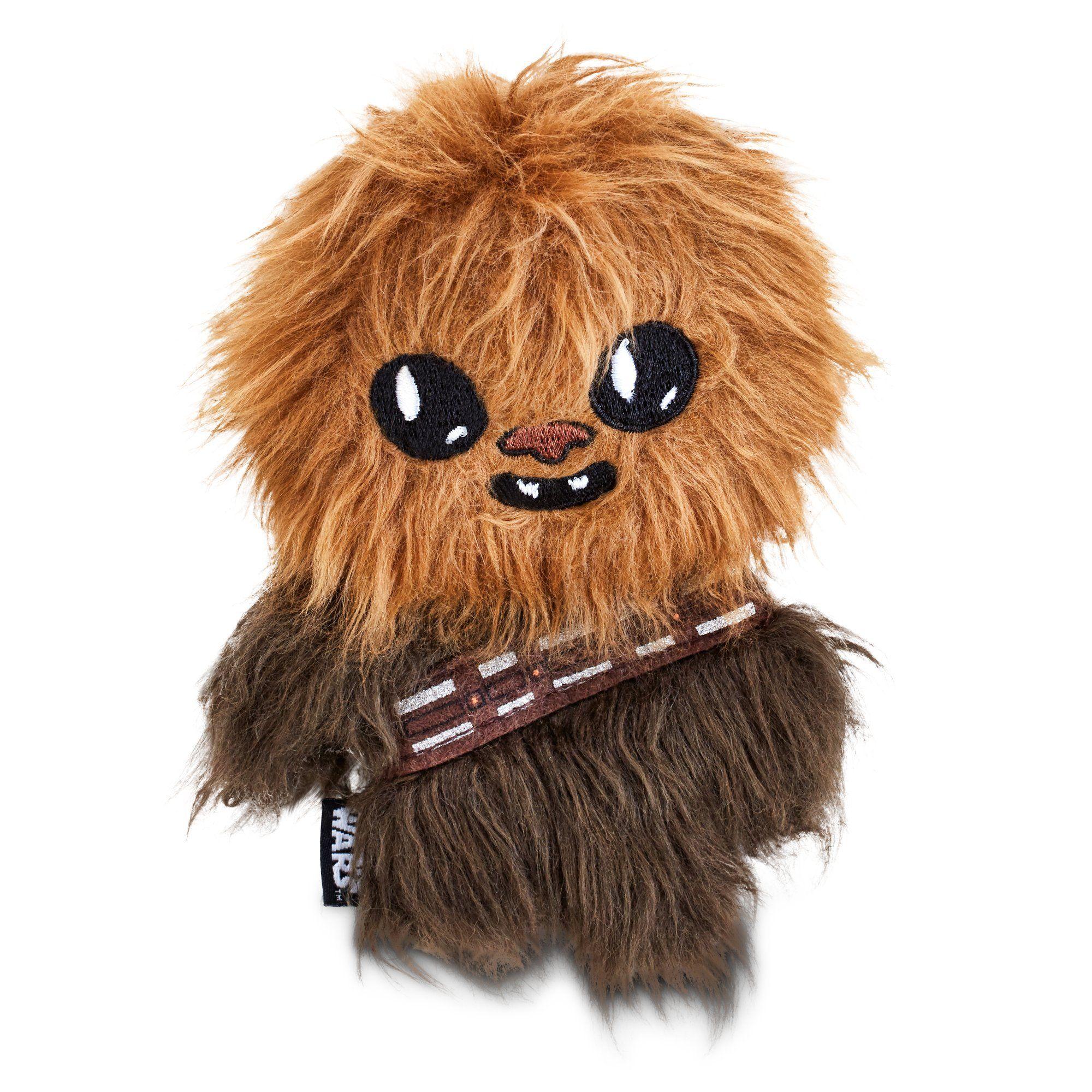 STAR WARS Chewbacca Flattie Dog Toy 6 L by Petco ** See