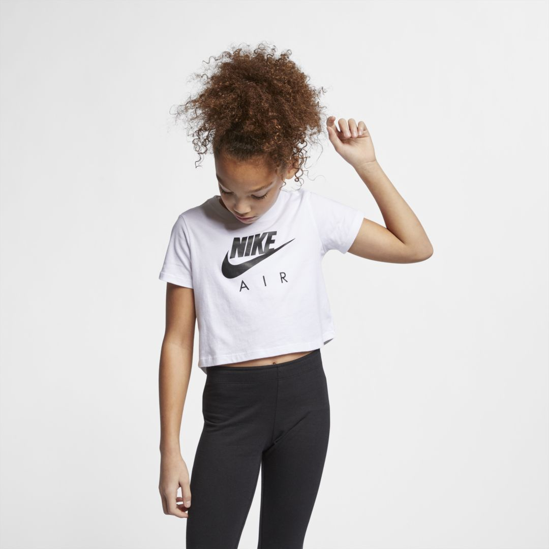 arriving huge inventory genuine shoes Air Big Kids' (Girls') Crop Top in 2019 | Girls crop tops ...