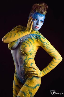 Pin On Body Painting Gallery