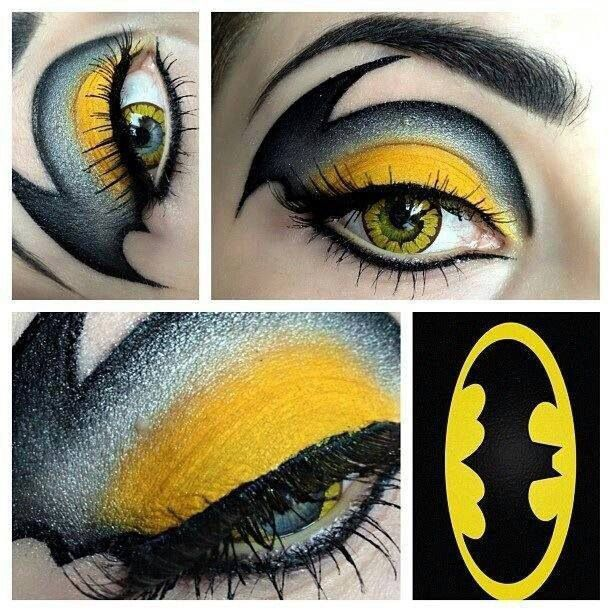 Batman inspired makeup Project undefined