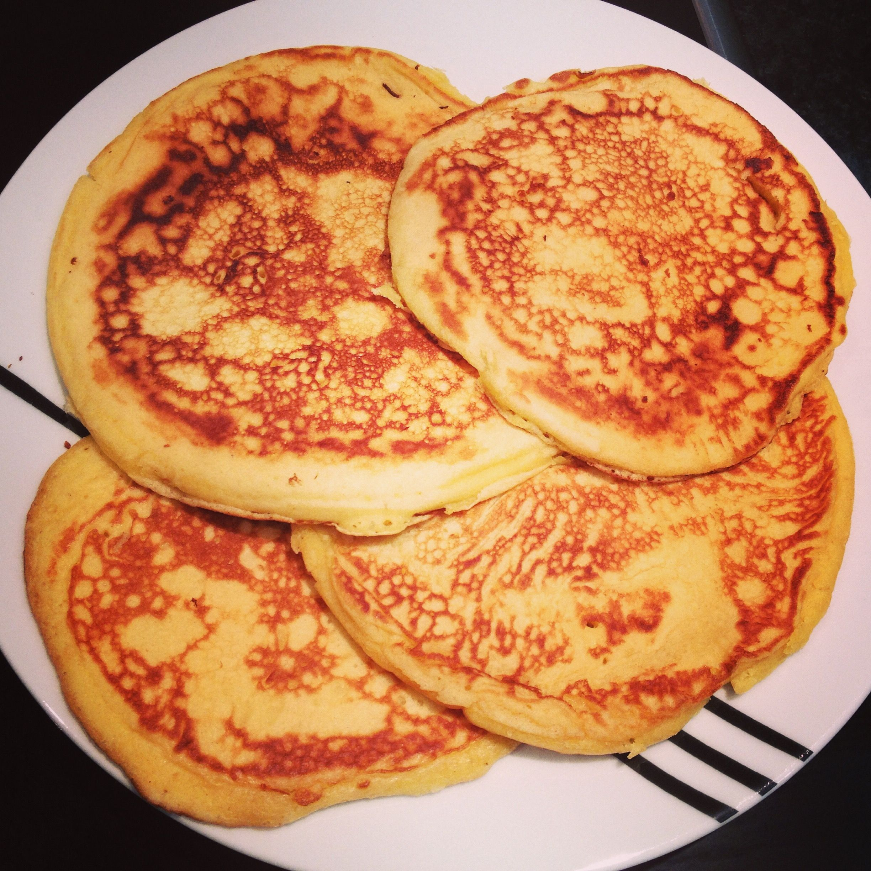Sweet pancakes before topping ;)