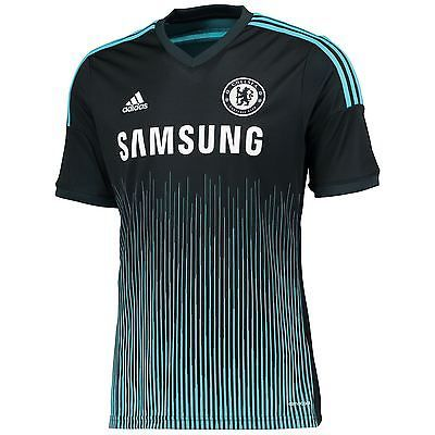 Adidas mens chelsea #football club third #shirt #2014/15 fans t-#shirt top tee,  View more on the LINK: 	http://www.zeppy.io/product/gb/2/331668721009/