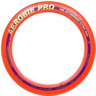 Aerobie Pro Flying Disc Record Breaker Frisbee Orange - £11.99