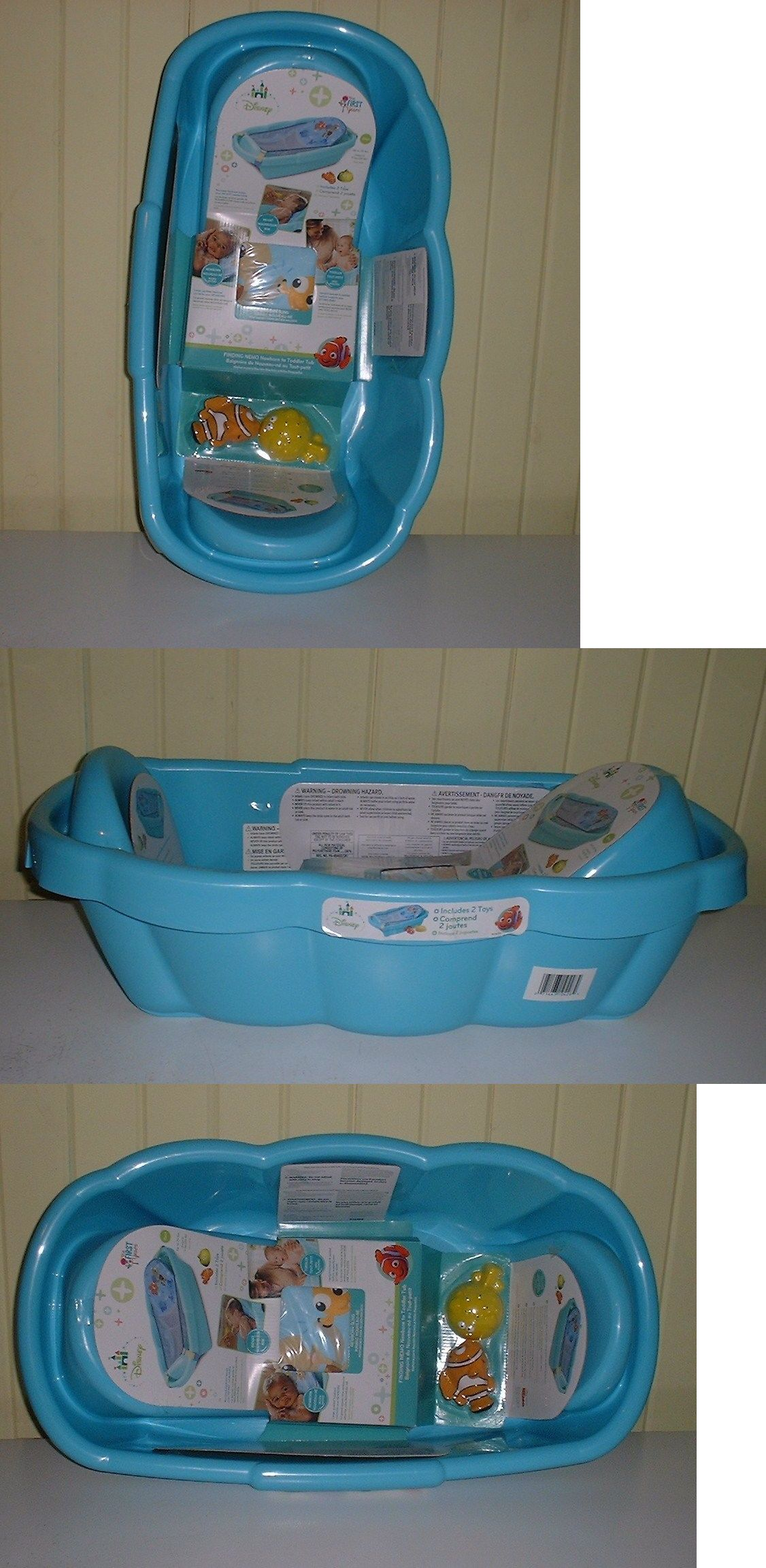 The First Years Disney Finding Nemo Infant To Toddler Tub plus 2 ...