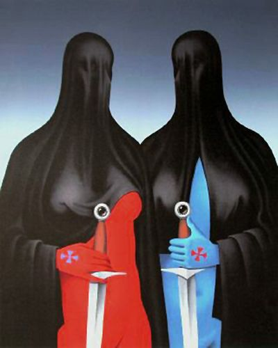 1975 'La Sainte Hermanda' by Felix Labisse