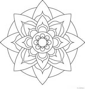 Pin By Kristin On Mandalas Mandala Coloring Pages Simple Mandala Mandala Coloring