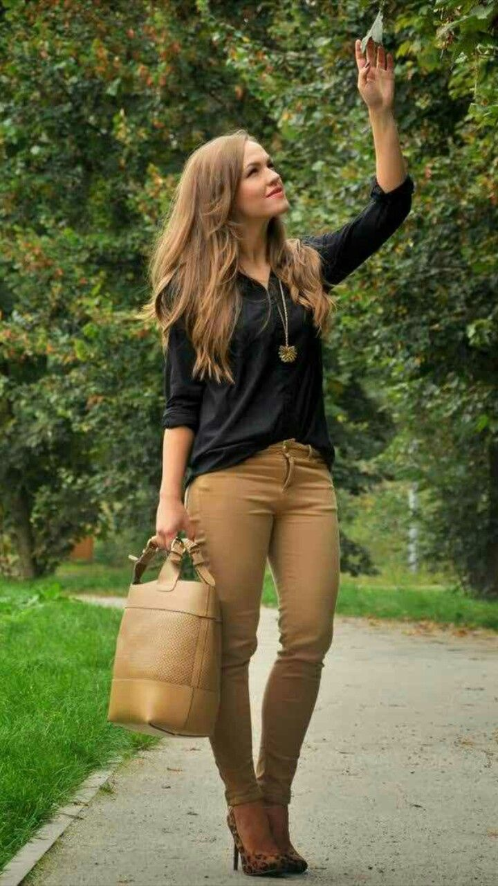 b48c99f24fb Tan jeggings