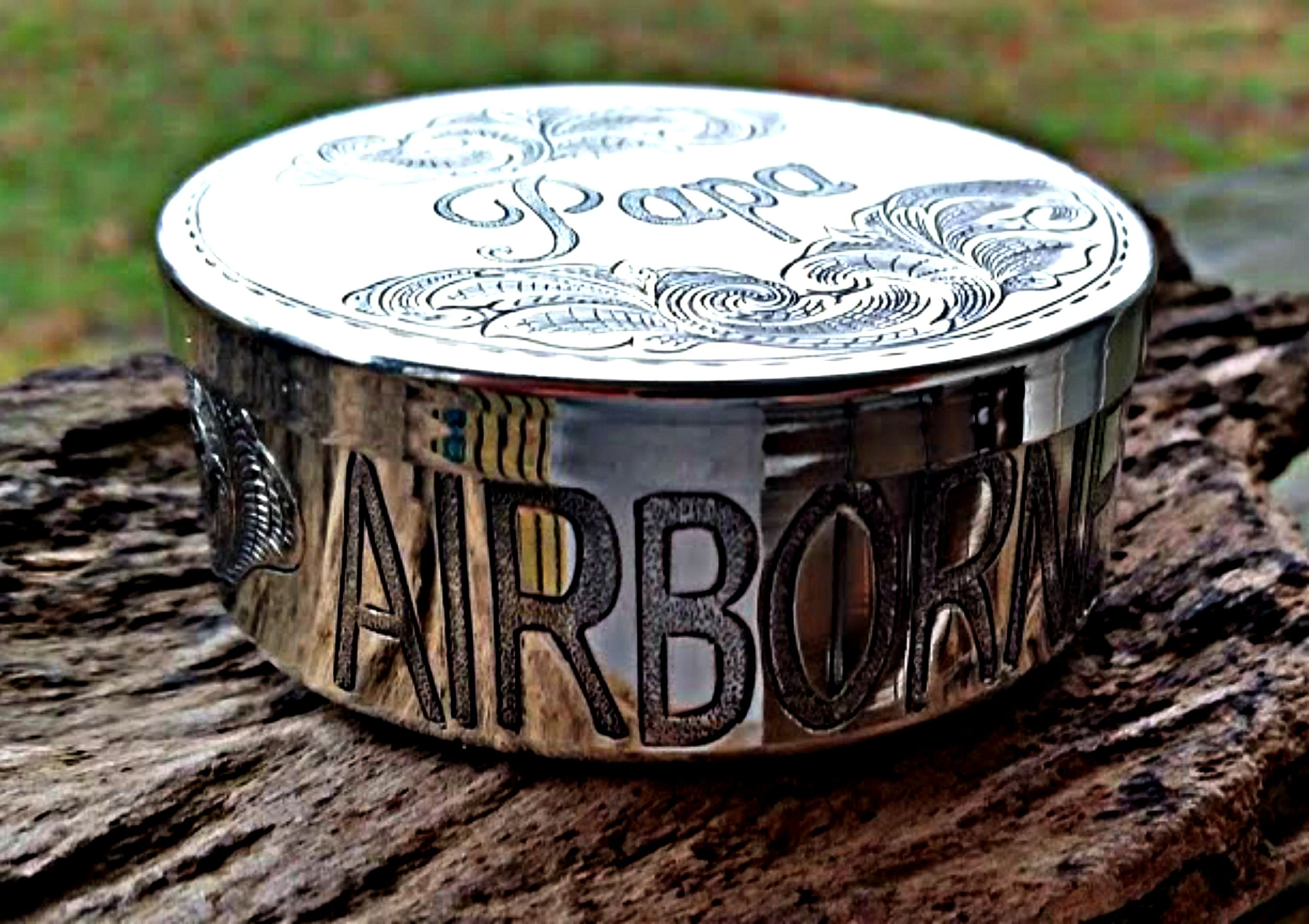custom personalized dip can for airborneranger order