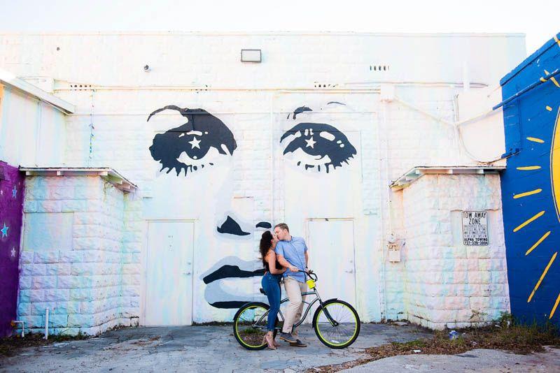 Downtown Saint Pete Engagement Session - Photo: Kera Photography - Orange Blossom Bride - Click Pin for More - www.orangeblossombride.com
