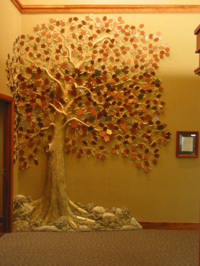 Love This Tree Of Life Idea Tom Moberg Made From Joint