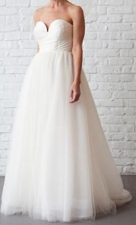 Used J. Crew Wedding Dress Size 2    Get a designer gown for (much!) less on PreOwnedWeddingDresses.com