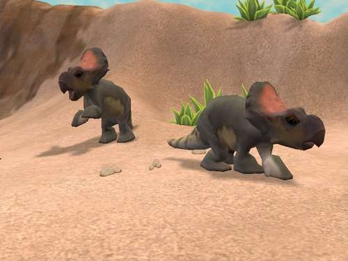 Zoo Tycoon 2 more animals | Zoo Tycoon 2 Protoceratops by