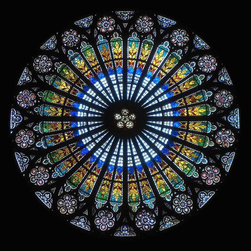 Rosace cathedrale strasbourg - Goottilainen arkkitehtuuri – Wikipedia