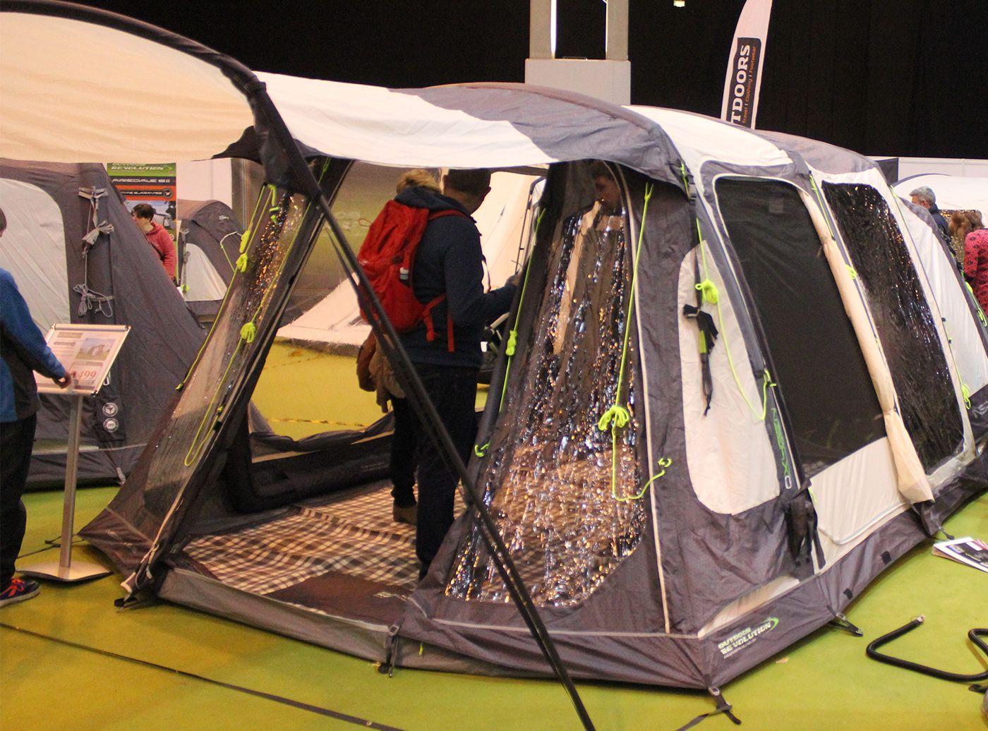 Outdoor Revolution Inspiral 5 Air Tent 2017 Air tent