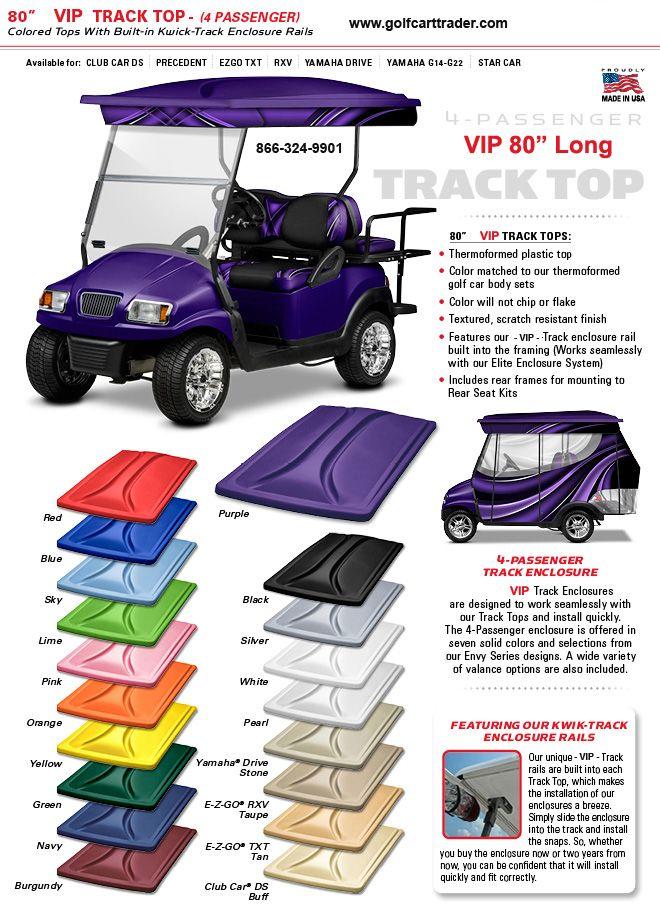 Cart Tops | Golf Cart Tops & Roofs 60