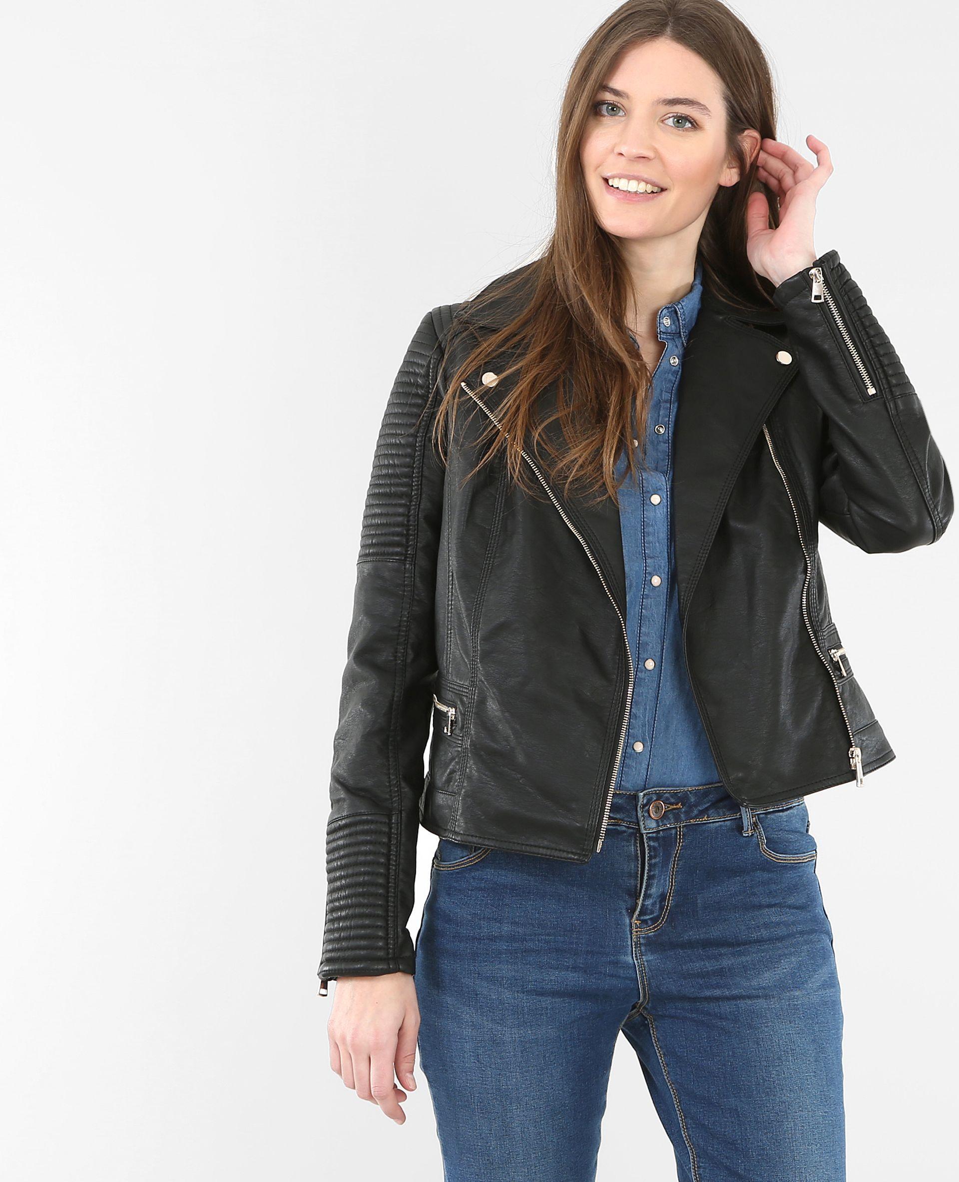Veste jeans femme bonobo