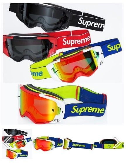 873d7fc946 Free Shipping Supreme Ski Goggle Goggles Black and Red Mask Winter Sport
