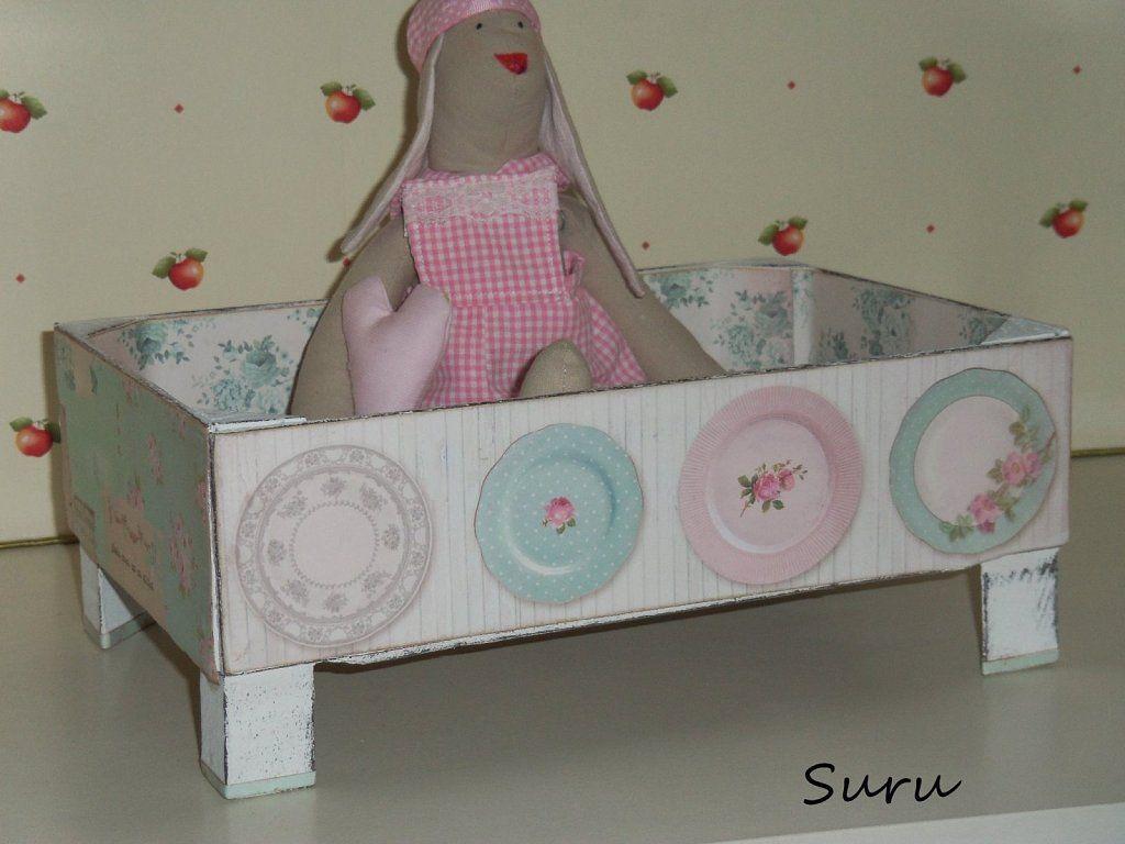 Cajas de fresas pinterest cajas bricolaje y es facil - Cajas de fresas decoradas paso a paso ...