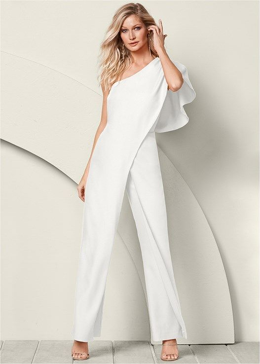 828e7ad3080 One shoulder jumpsuit in 2019