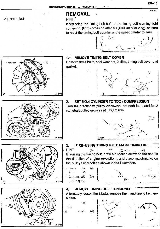 8kz Engine Timing Gears Diagram