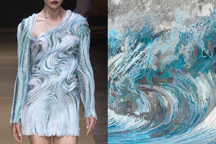 This Article By Sara Barnes From March 14 2017 Via The Mymodernmet Com Website Art Inspired Fashion Fashion Inspiration Design Fashion Collection Inspiration