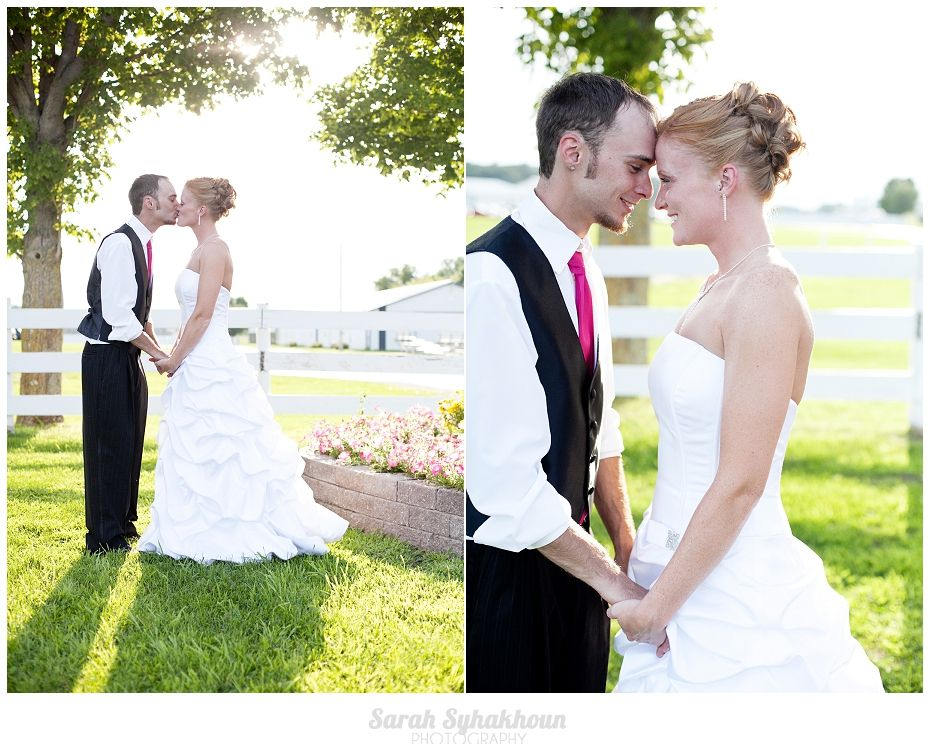 Small Town Outdoor Wedding Photography In Rochester MN Sarah Syhakhoun Photography