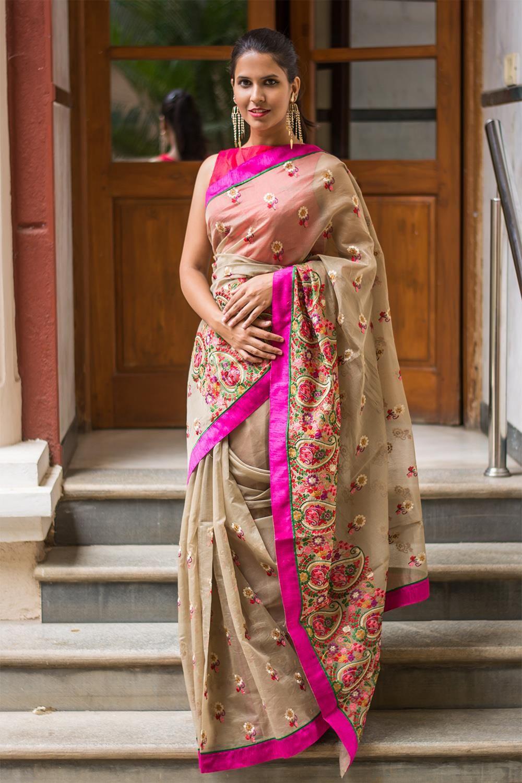 1e20c485e002c Red Banglori Silk Readymade embroidery designer saree blouse Source · Designer  Saree Blouses Online valoblogi com