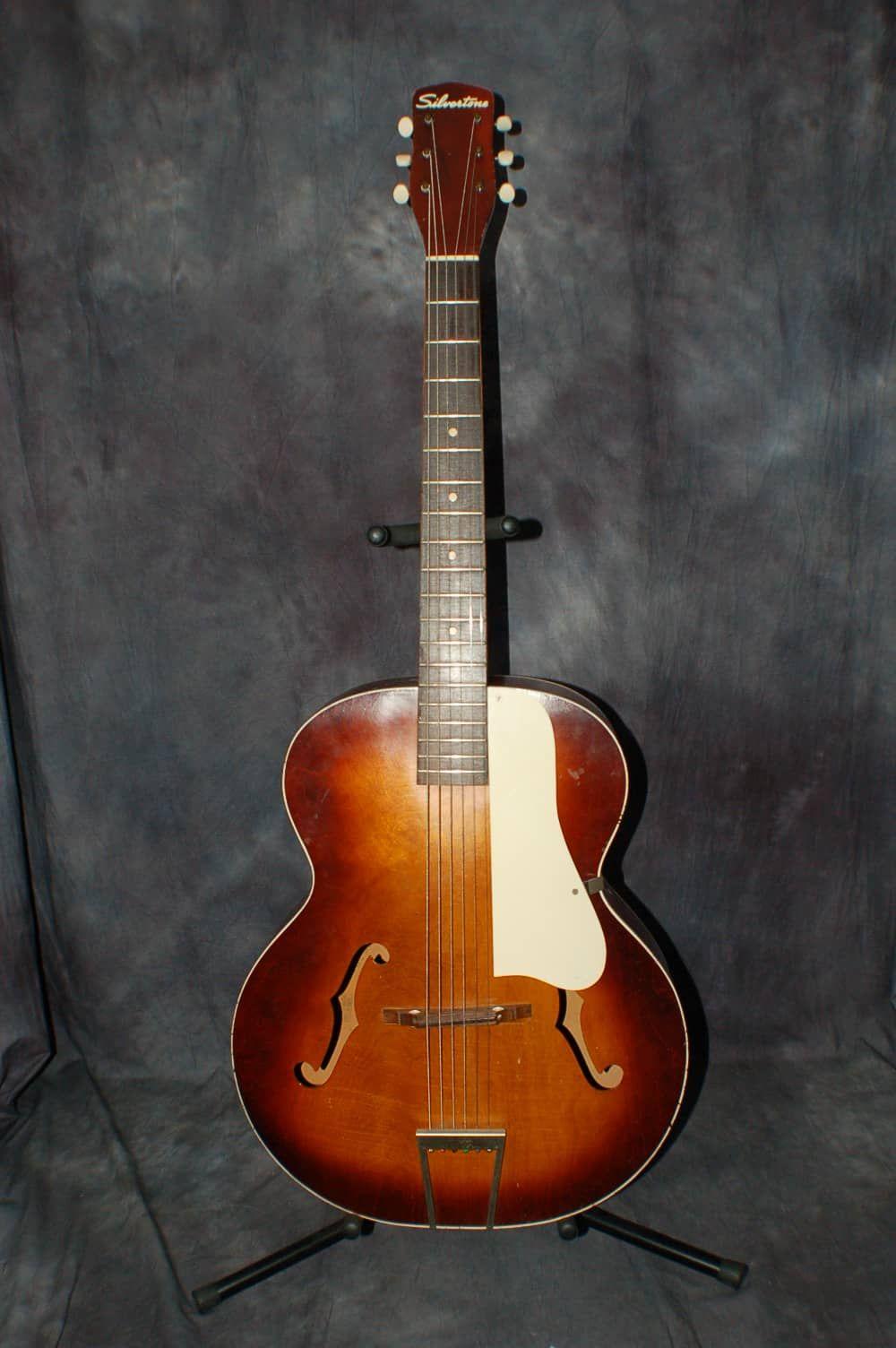 dating Silvertone kitarat