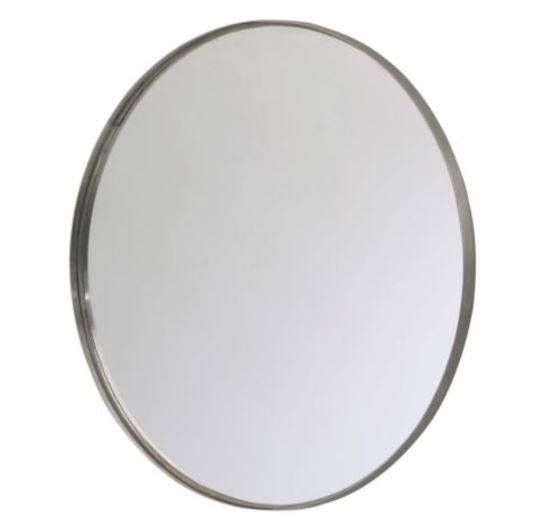 24 Stainless Steel Round Mirror Wall Mirrors Ikea Bathroom Furniture Inspiration Mirror Wall Bathroom