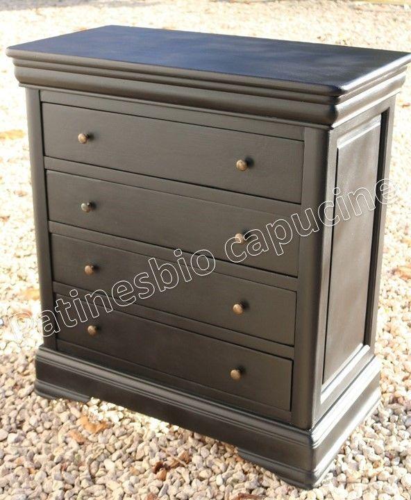 peindre du merisier sans d caper peindre un meuble. Black Bedroom Furniture Sets. Home Design Ideas