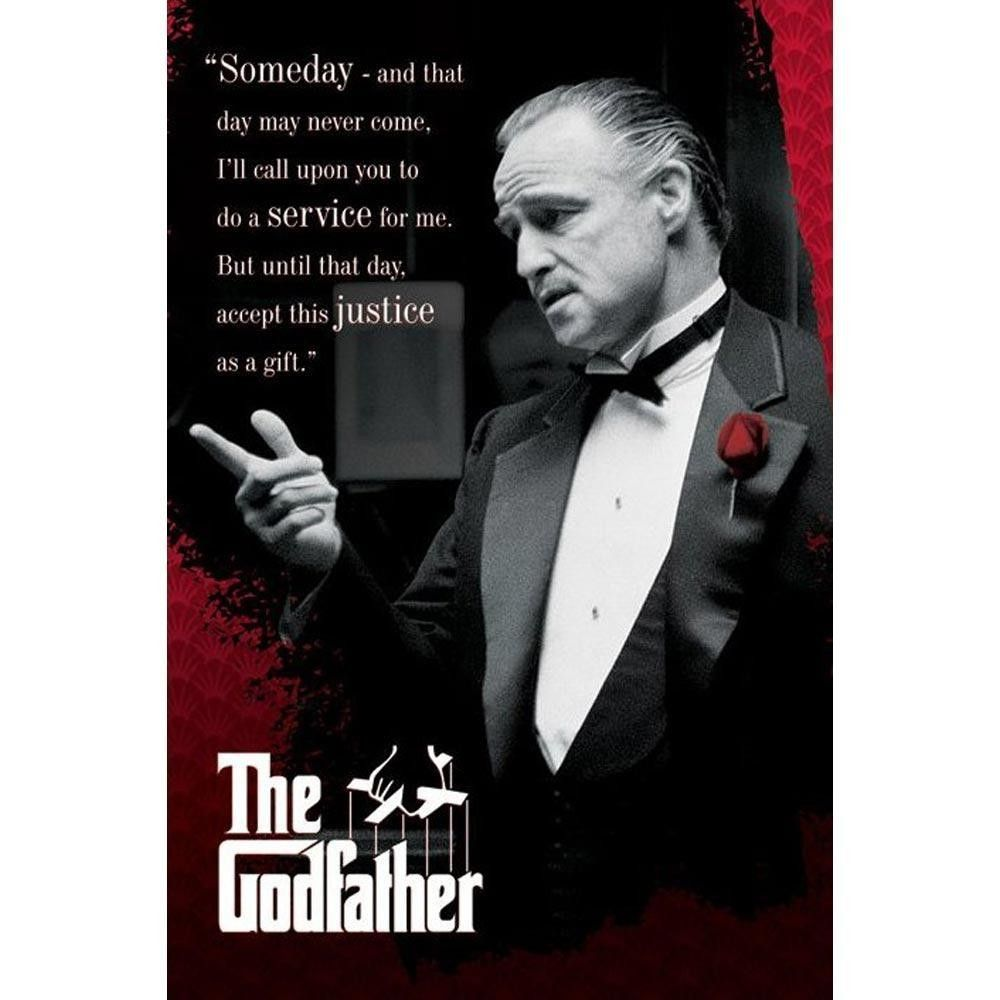 Profile Respect Quote NEW 24X36 THE GODFATHER POSTER